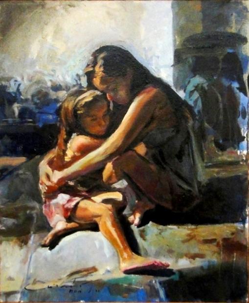 CARMO SOÁ (1962)Proteção,2009,ost, 56 x 46cm