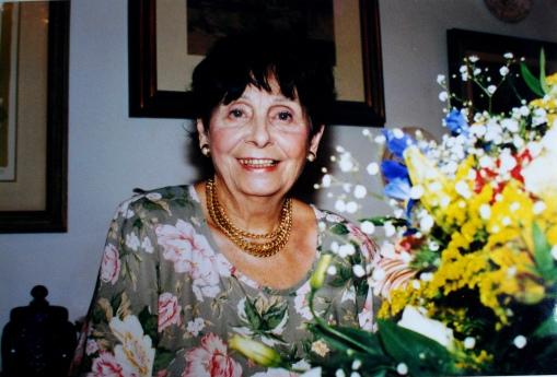 Mamãe, aniversário, 73 anos, foto do Marcus