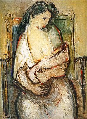 Manabu-Mabe-MaternidadeManabu Mabe – Maternidade – 100 x 73 cm