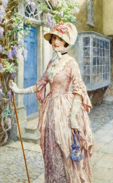 margetson-william-henry-1861-a lady of quality