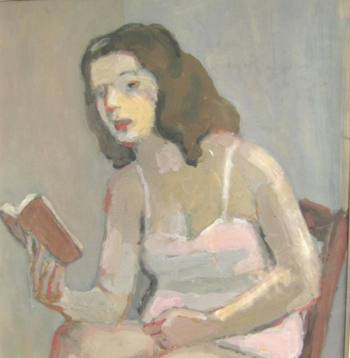 Ossip LUBITCH Ossip LUBITCH (1896-1990), jeune femme lisant