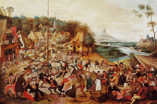 Pieter the Elder Bruegel -The Dance around the May Pole