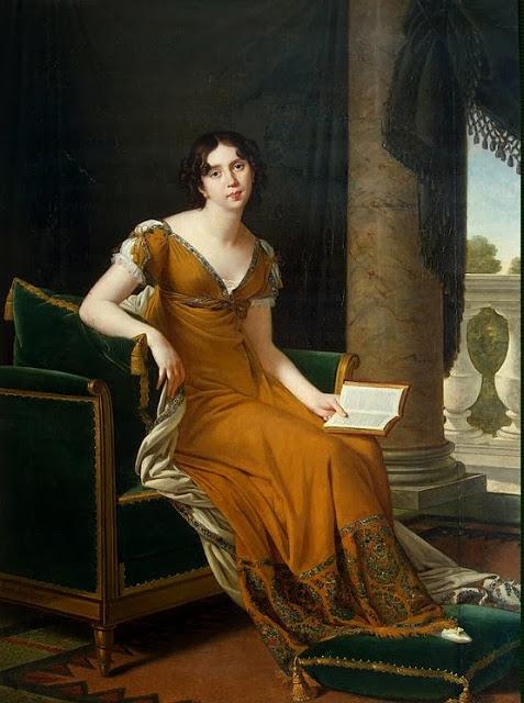 Portrait-of-Elizaveta-DemidovaRobert Lefevre [ Elizaveta Demidova ] 1805