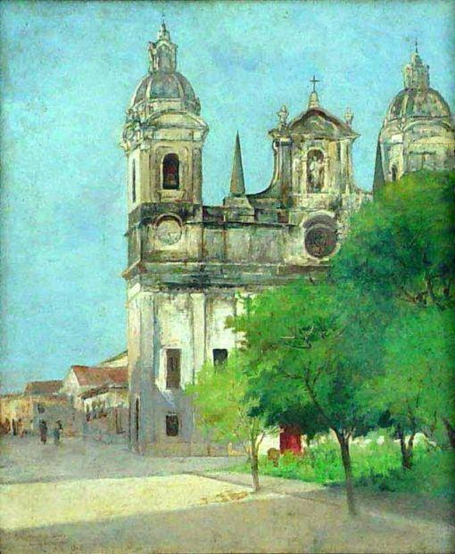Antôno_Parreiras_-_A_Catedral_de_Belém,_1905