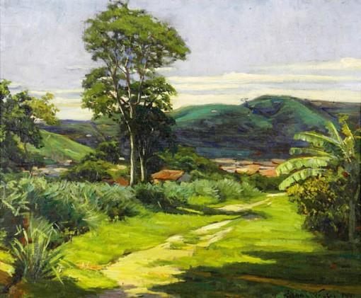 Edgar Walter, Paisagem, ose, 32x42