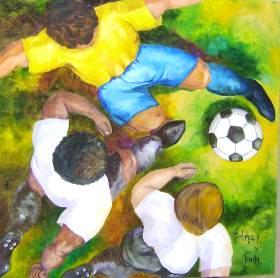 Edna de Paula Soares, futebol