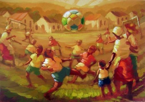 erico santos, verdeamarelaazulebranca70x100ost2009d_GR