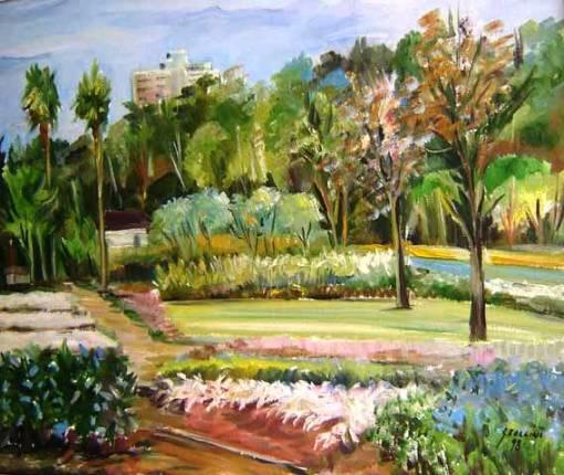 Giancarlo Zorlini, Parque Manequinho Lopes, Ibirapuera, 1998, ost, 50 x 60