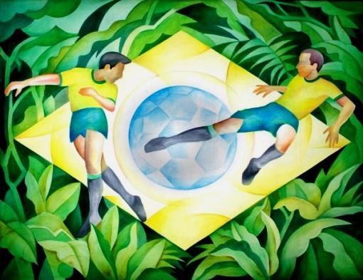 gregorio gruber, Brasil, 1997, ost, 190x240