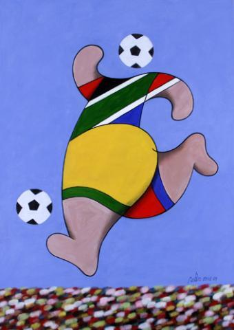 Gustavo Rosa (Brasil, 1946-2013) Gol!