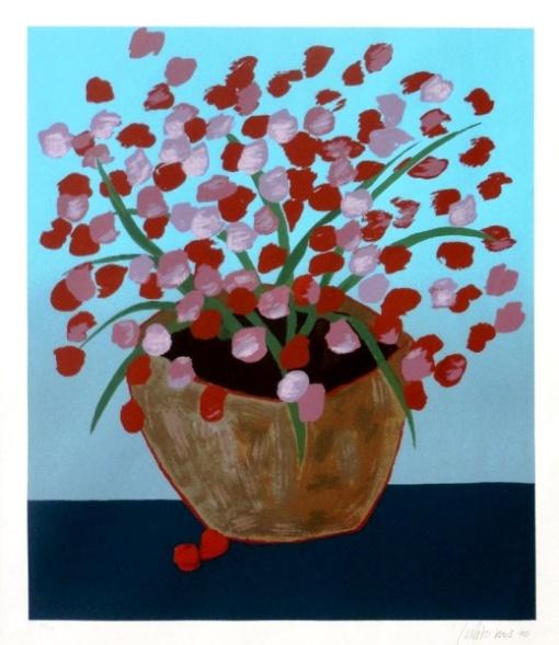 Gustavo Rosa - Sem título - Gravura 66-190 - 71 x 59 cm (MI) - 1990