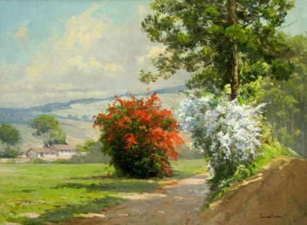 Luiz Pinto, (Brasil 1939) paisagem-do-campo, 2008,ost, 60x80
