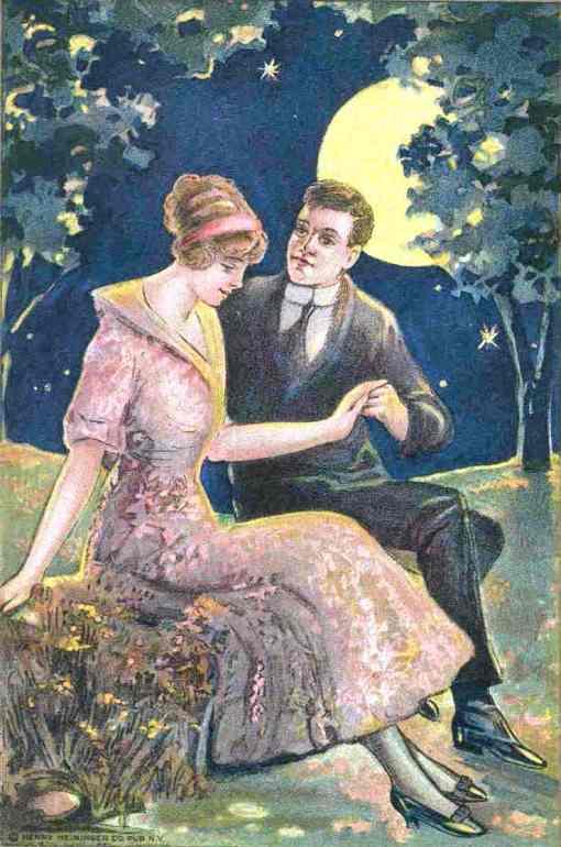 noivado, cartão postal