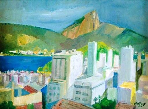 ORTHOF, Geraldo(1903)Rio de Janeiro,1985,ost,54 x73cm