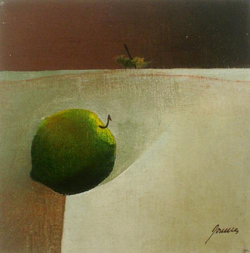 Paulo Porcella,óleo s tela,15 x 15cm,1981