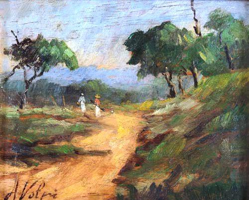 VOLPI, Alfredo (1896 - 1988) Paisagem,osm,17x20