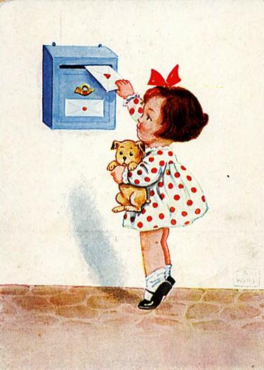 carta no correio