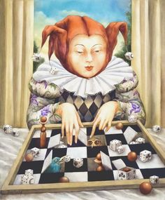 Diana de Méridor. Chess is Art