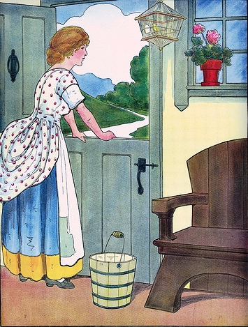 espera, ilustração de Blanche Fisher Wright