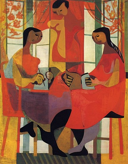 Margaret Peterson (EUA) Three Women