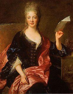 Élisabeth Jacquet de La Guerre painted by François de Troy