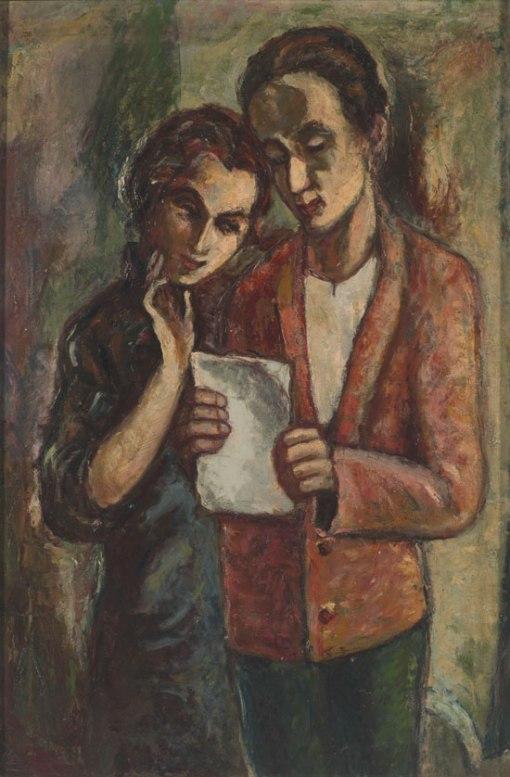 David Bekker. Letter from the Old Country, 1936. Collection of Bernard Friedman