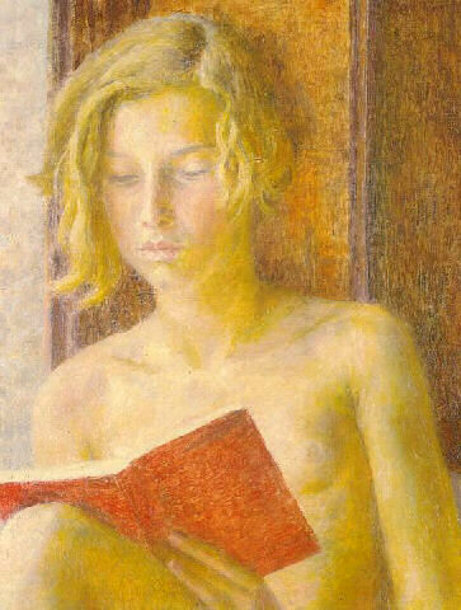 dinah-readingDod Procter (1892 – 1972, English)
