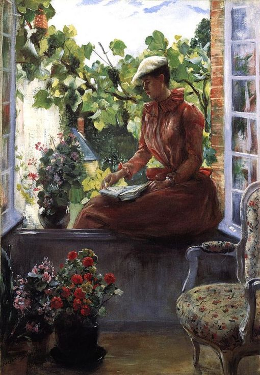 Norbert_Gœneutte_-_Portrait_of_Anna_Gœneutte_Wearing_a_Beret (França)