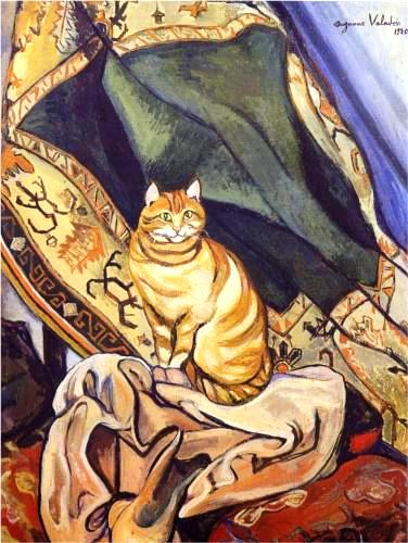raminou-sitting-on-a-cloth-1920Raminou sitting on a cloth (1920) by Suzanne Valadon