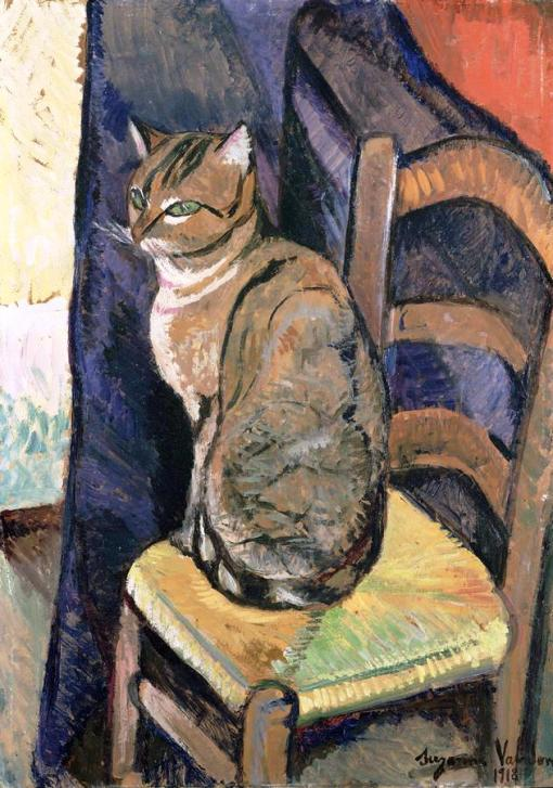 study-of-a-cat-suzanne-valadon