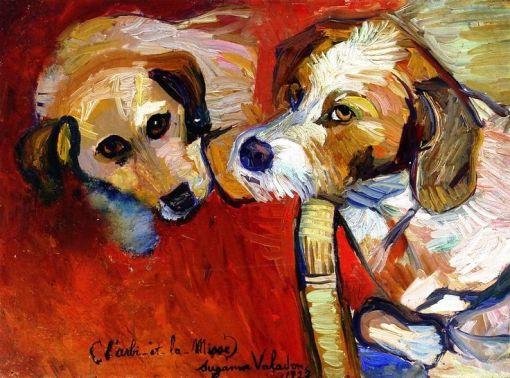 Suzanne Valadon, L'arbi et la misse, 1927 Suzanne Valadon