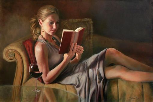 Anna Bain - The Perfect Evening- 24x36inches - oil on linen-
