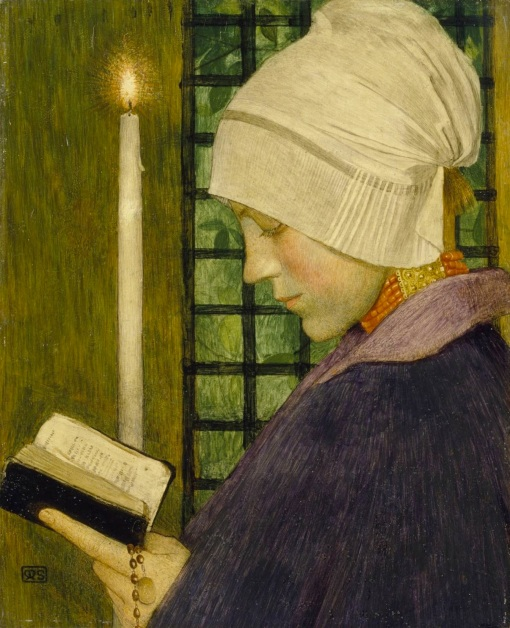 Marianne Stokes,(1855-1927) Candlemas Day