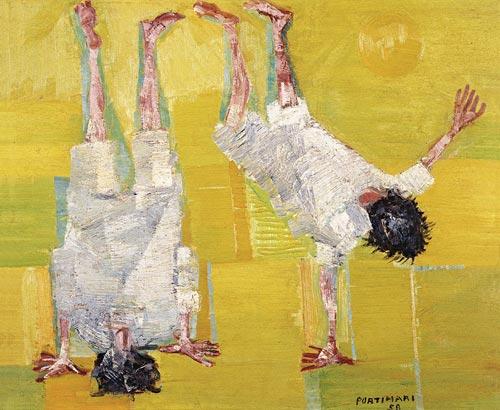 portinari_cambalhotaóleo sobre tela, 1958, 59.5 x 72.5 cm.