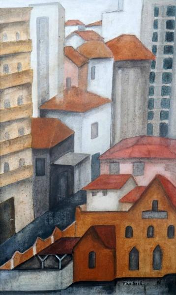 ALICE BRILL - Casario - OST - CID - dat 1988 - 79 x 42 cm.
