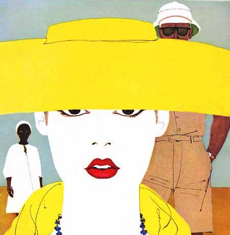 chapéu amarelo, al parker