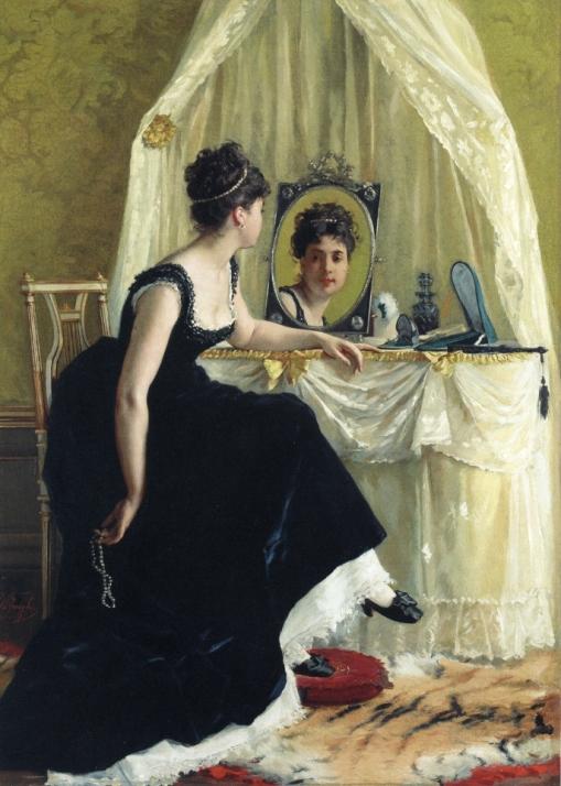 ESPELHO Gustave Leonard de Jonghe