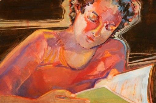 girl-reading marilyn sears bourbon