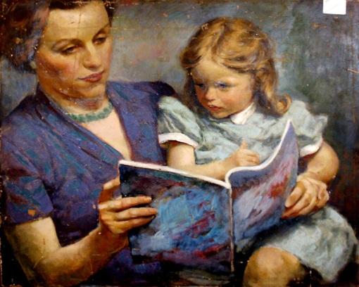 mother-and-child-2Edmund Franklin Ward (1892 – 1990)