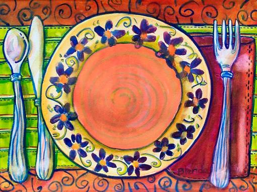 place-setting-art-blenda-tyvollPlace Setting Art by Blenda Studio
