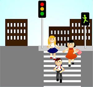 atravessar a rua