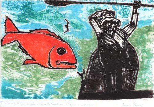 Goeldi,Oswaldo(1895-1961)pescador,1973,xilo,25x37