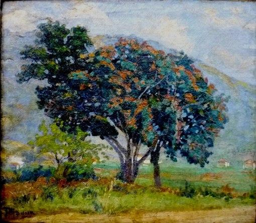 TúlioMugnaini (Brasil, 1895-1975), Paisagem,ostcm, 27x 30cmColeção Particular