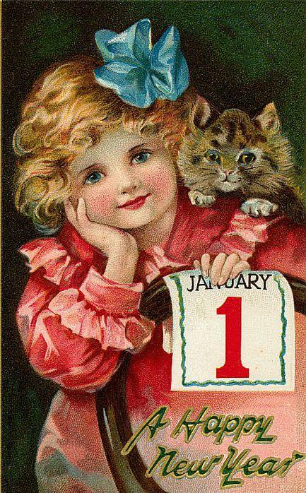 1 de janeiro, 5 com gatinho