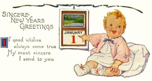 1 de janeiro, bebe