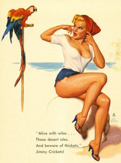 earl moran, papagaio