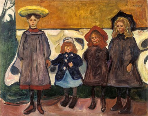 Edvard_Munch_-_Four_Girls_in_Åsgårdstrand_-_Google_Art_Project
