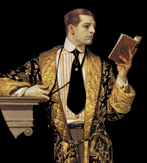 leitor, leyendecker_001,Joseph Christian Leyendecker was born in Germany in 1874 and came to America ...