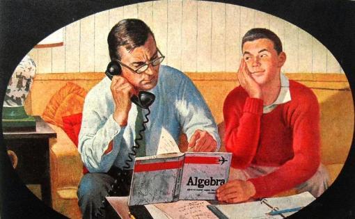 pai e filho algebra