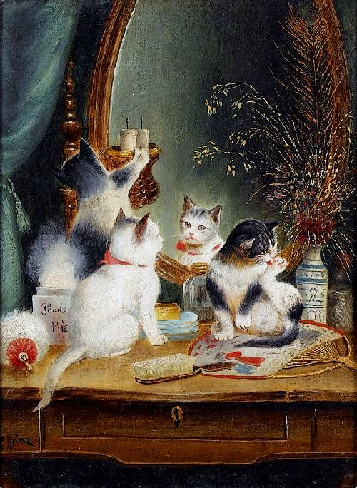 Carl-Reichert-XX-Cats-in-the-Boudoir-XX-Private-collection